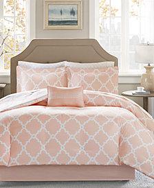 Madison Park Essentials Merritt Reversible 9-Pc. Queen Comforter Set