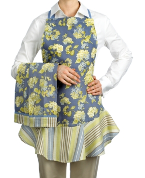 Waverly Kitchen Set, Rolling Meadow Apron and 3 Kitchen Towels