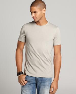 INC International Concepts T Shirt, Solid Crew