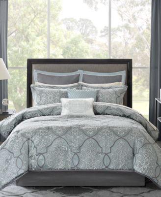 Lavine 12-Pc. Queen Comforter Set