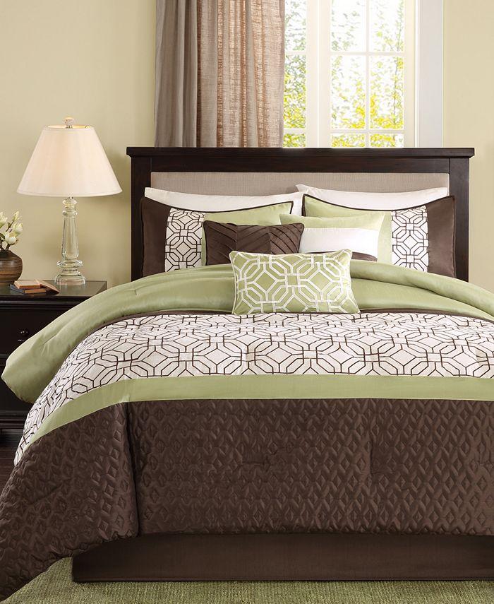 Madison Park - Briggs 7-Pc. California King Comforter Set