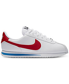 Nike Big Kids' Cortez Basic SL Casual Sneakers from Finish Line