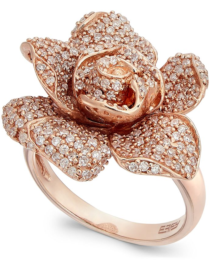 EFFY Collection - Diamond Ring in 14k Rose Gold (1-1/8 ct. t.w.)