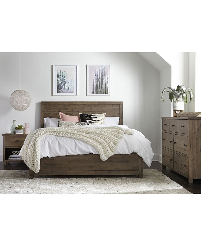 Furniture - Canyon Bedroom , 3 Piece Bedroom Set, Only at Macy's, (Full Bed, Dresser and Nightstand)