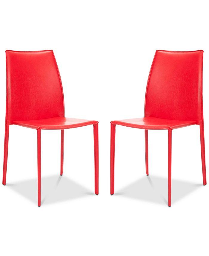 Safavieh - Olanta Stacking Chairs (Set Of 2), Quick Ship