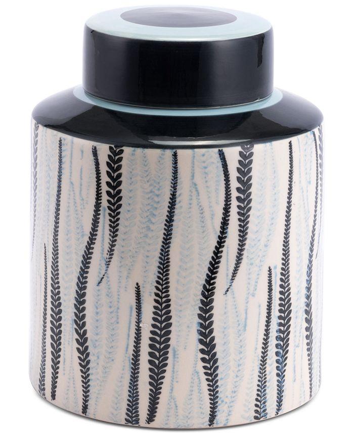 Zuo - Espiga Large Jar White & Black