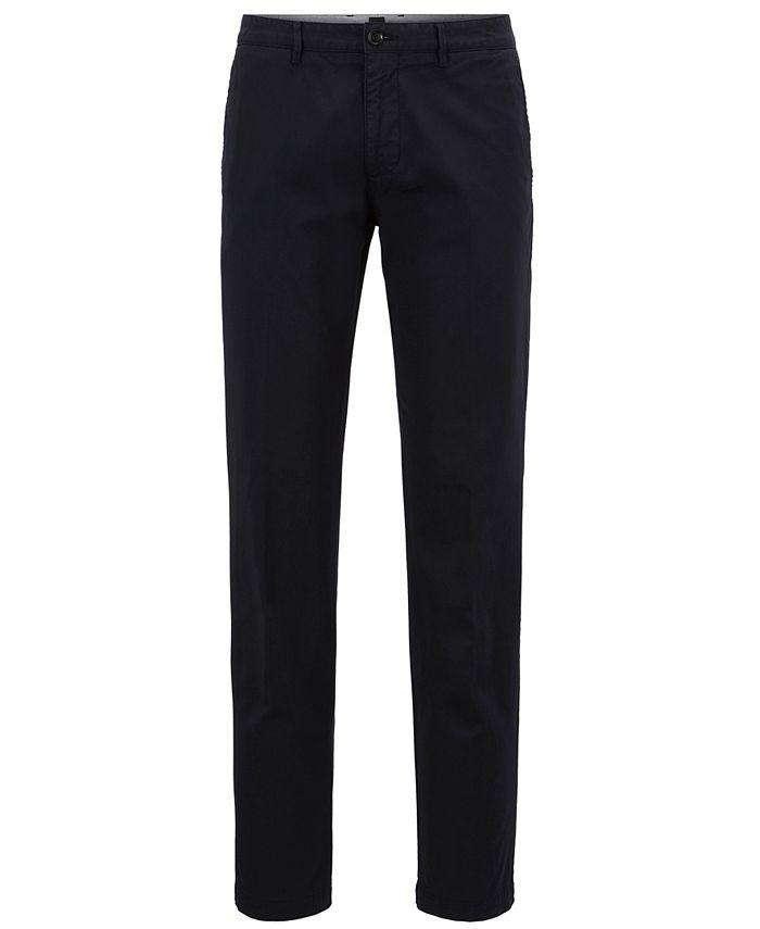 Hugo Boss - Men's Regular/Classic-Fit Stretch Pants