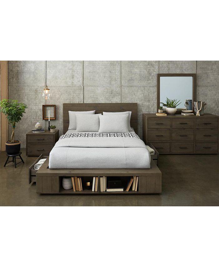 Furniture - Brandon Storage Platform Bedroom , 3-Pc. Set (Queen Bed, Dresser & Nightstand), Created for Macy's