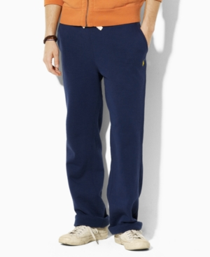 Polo Ralph Lauren Big and Tall Pants, Fleece Drawstring Athletic Pants