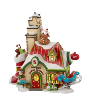 Department 56 Collectible Figurine, North Pole Village Santa's Helpers Training Academy - Retired