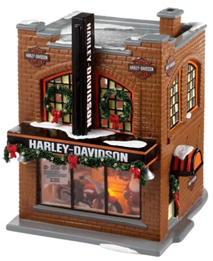 Department 56 Snow Village Harley Davidson Collectible Figurine