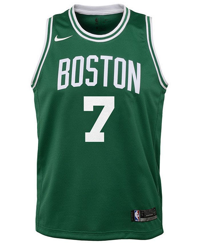Jaylen Brown Boston Celtics Icon Swingman Jersey, Big Boys (8-20)