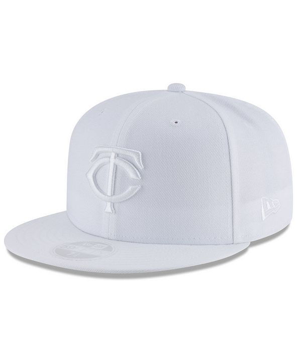 New Era Minnesota Twins White Out 59FIFTY FITTED Cap