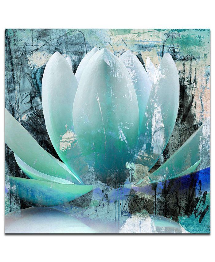 Ready2HangArt - 'Painted Petals XXIV' Canvas Art Print
