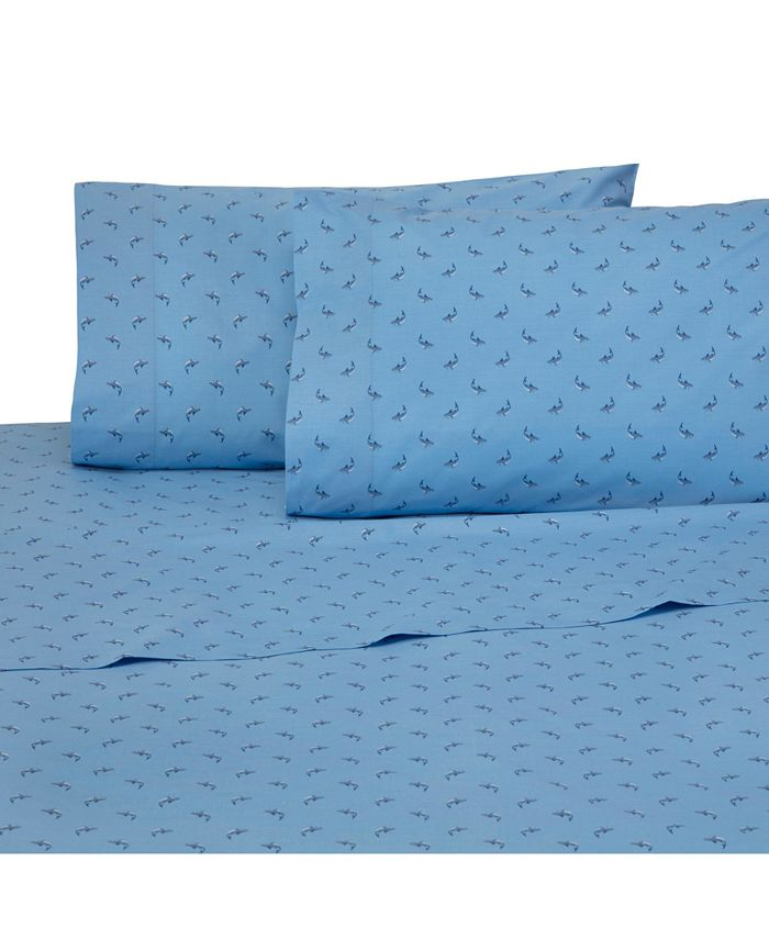 Southern Tide - 200-Thread Count Cotton Percale Printed Standard Pillowcase Pair
