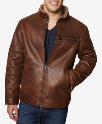 Big \u0026 Tall Faux-Leather Jacket