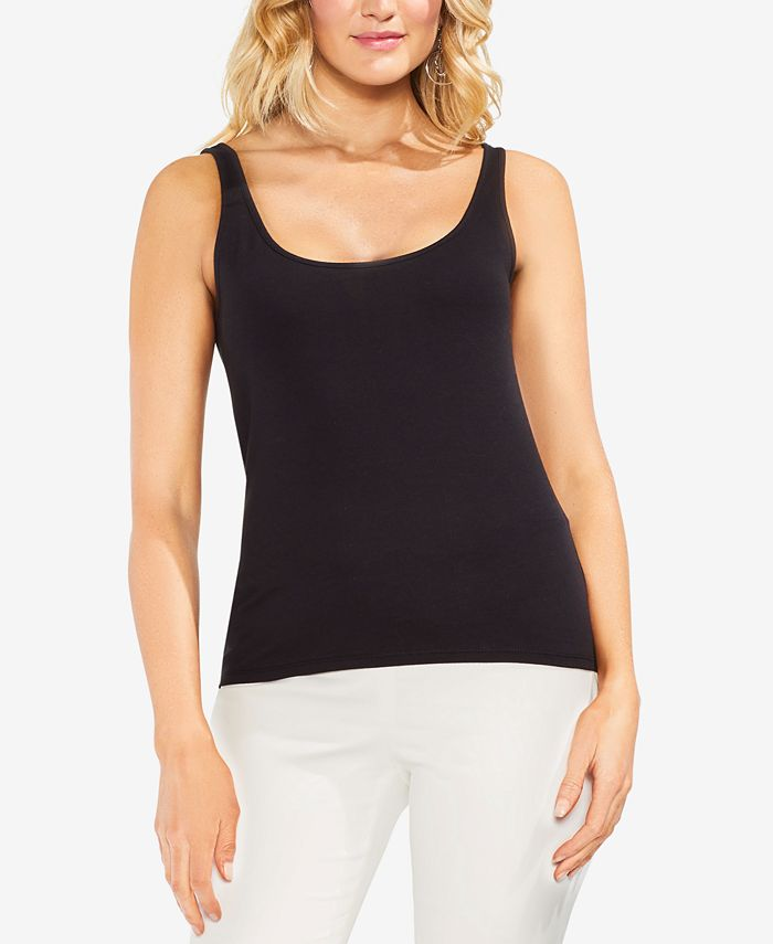 Vince Camuto - Sleeveless Knit Tank Top