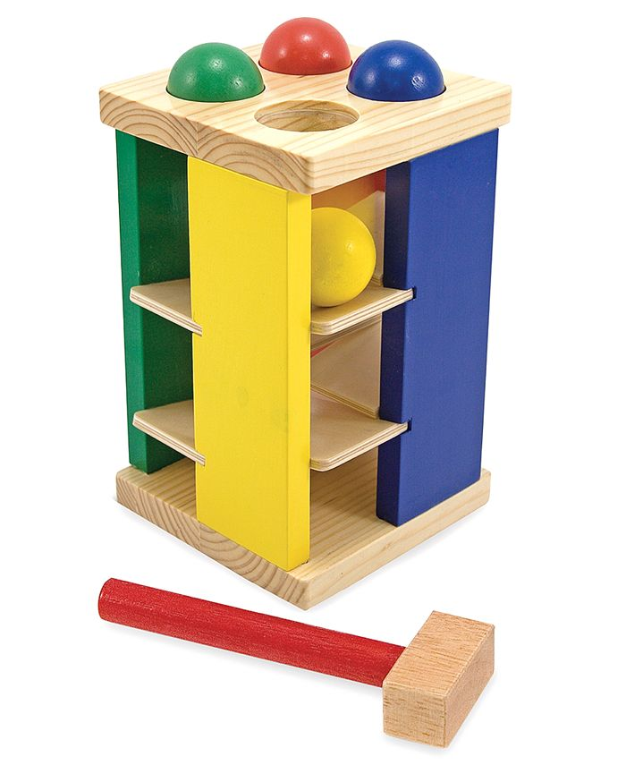 Melissa and Doug - Kids Toy, Pound and Roll Tower
