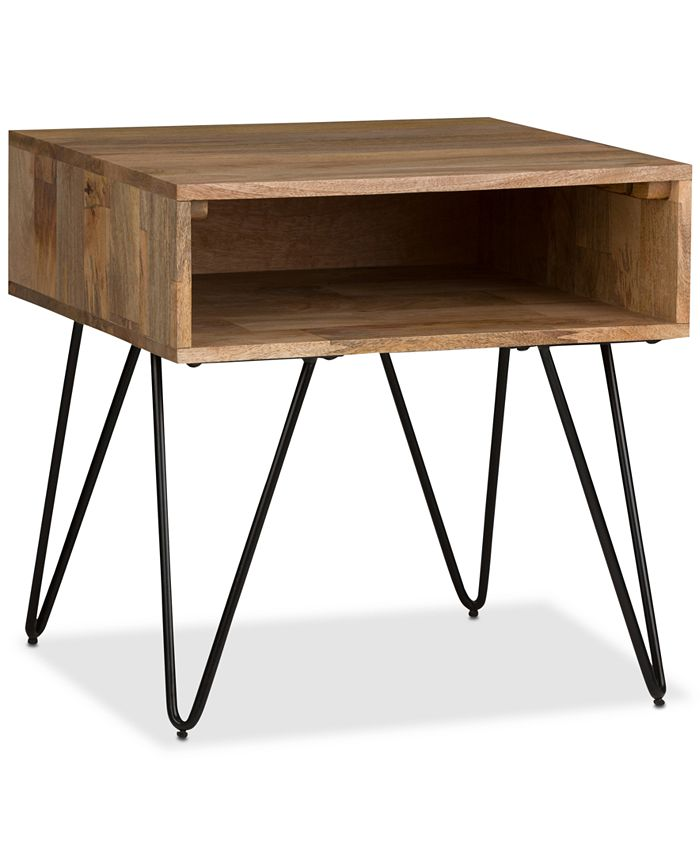 Simpli Home - Mardel End Side Table, Quick Ship