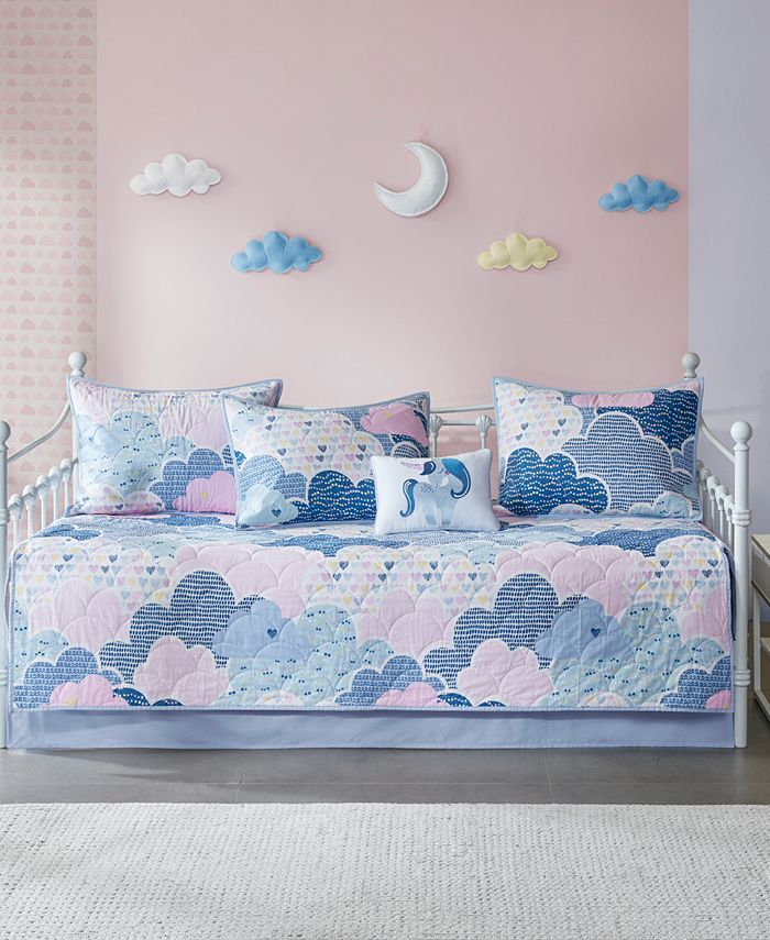 JLA Home - Kids Cloud Reversible 6-Pc. Daybed Set