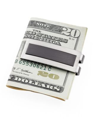 Kenneth Cole Reaction Money Clip, Brushed Rhodium