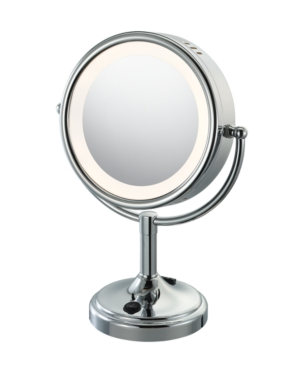 Aptations 89575 89545 Mirror, Double Sided Lighted Magnified Makeup