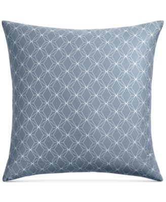 CLOSEOUT! Cascade Cotton 400-Thread Count Blue European Sham, Created for Macy's