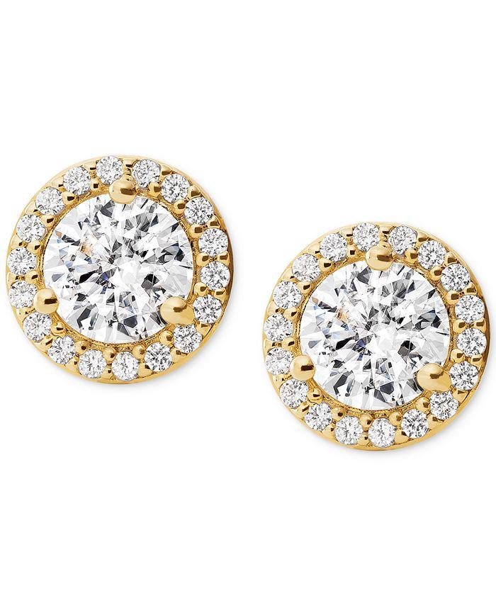 Michael Kors - Crystal Stud Earrings