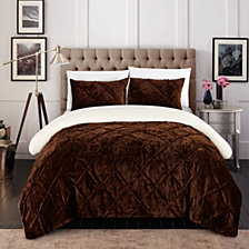Chic Home Josepha 7 Piece King Bed In a Bag Comforter Set
