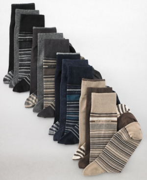 Calvin Klein Socks, Casual Stripe 3 Pack