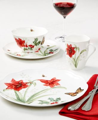 Butterfly Meadow Holiday Accent Plate Jasmine