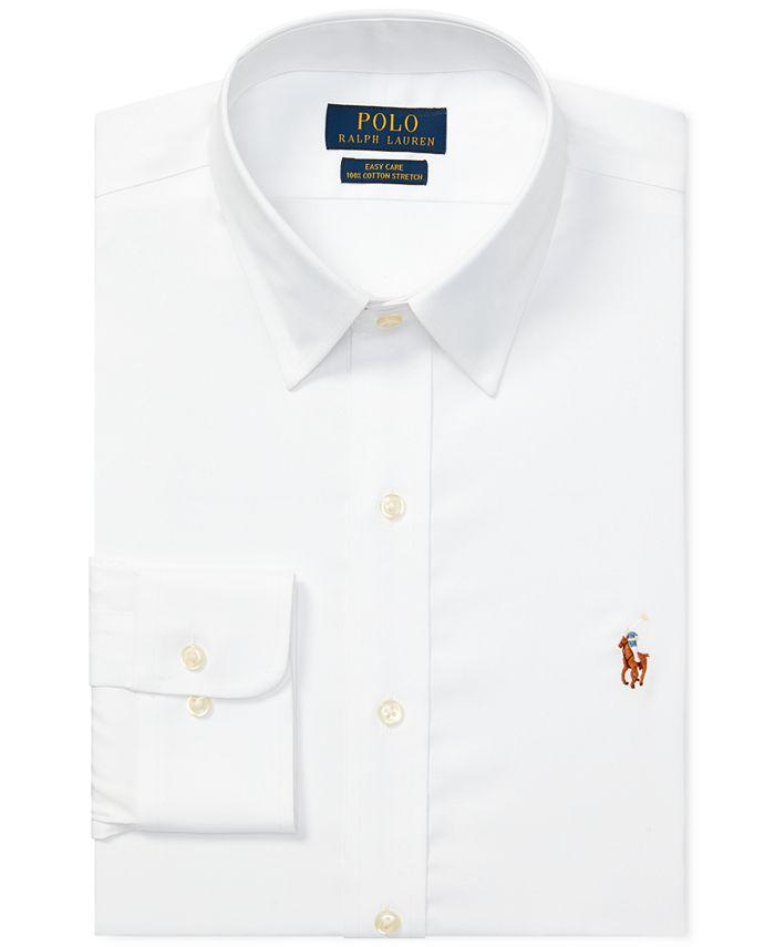 Polo Ralph Lauren Men's Classic-Fit Easy-Care Dress Shirt ...