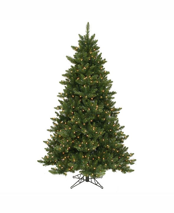 Vickerman 6.5' Camdon Fir Artificial Christmas Tree with 600 Clear Lights