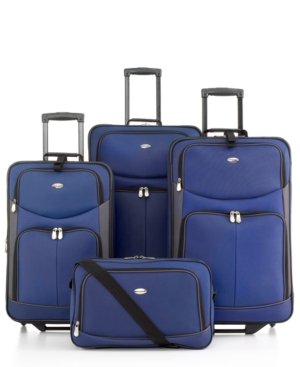 Pierre Cardin Belmont 4-Piece Luggage Set