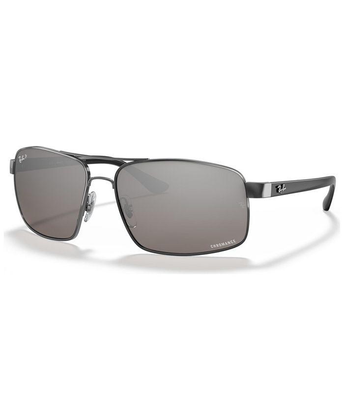 Ray-Ban - Polarized Sunglasses, RB3604CH 62