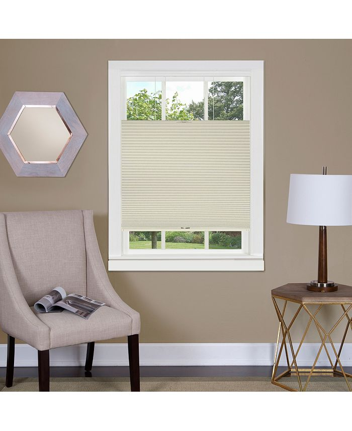 Achim - Top Down-Bottom Up Cordless Honeycomb Cellular Shade 33x64 White