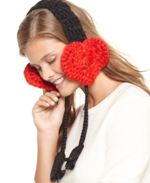 American Rag Ear Warmers, Heart Hairband