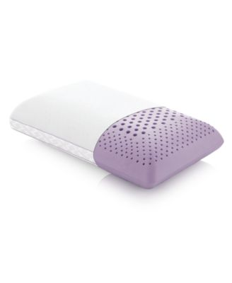 Z Zoned Lavender Mid Loft Queen Pillow with Aromatherapy Spray