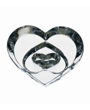 Baccarat Collectible Figurine, Hearts of Love Clear