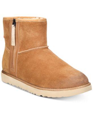 Men's Classic Waterproof Mini Zip Boots
