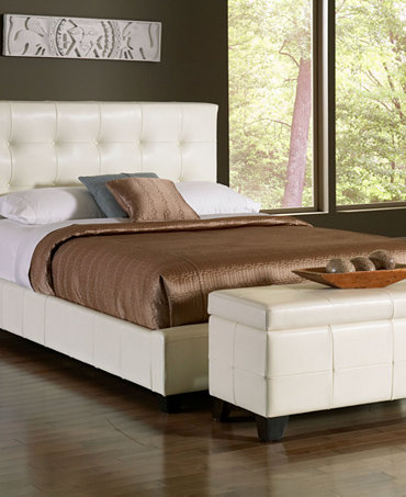 Hawthorne bedroom furniture collection white leather - Hawthorne bedroom furniture collection ...