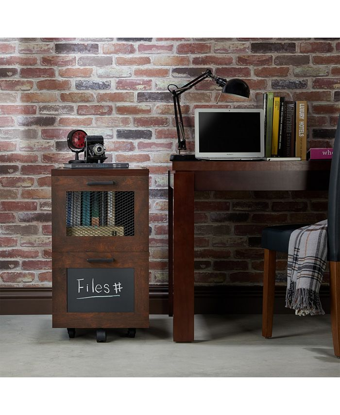 Furniture of America - Brynn Industrial Filing Cabinet