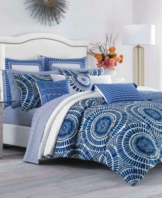 Samba De Roda Blue Aster Twin Comforter Set