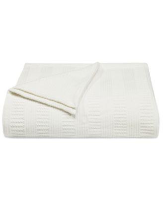 Rope Stripe Twin Blanket