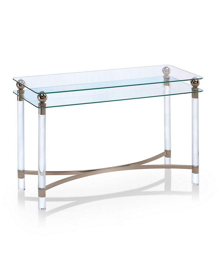 Furniture of America - Bolynn Side Table, Quick Ship