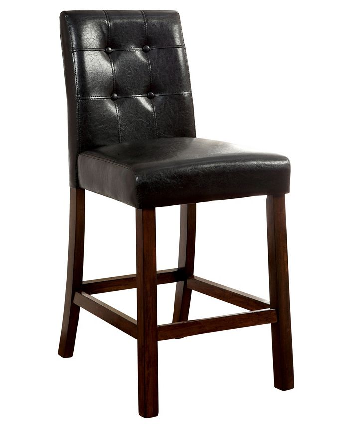 Furniture of America - Phebe Counter Stool (Set Of 2), Quick Ship