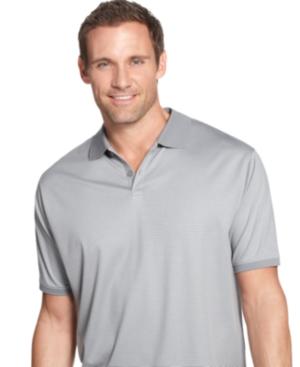 Calvin Klein Big and Tall Shirt, Cotton Striped Polo