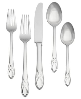 Waterford Flatware 18/10, Lismore Essence 5 Piece Place Setting