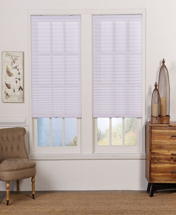 The Cordless Collection - Cordless Light Filtering Pleated Shade, 35.5x64