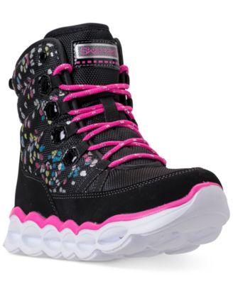 skechers boots light up